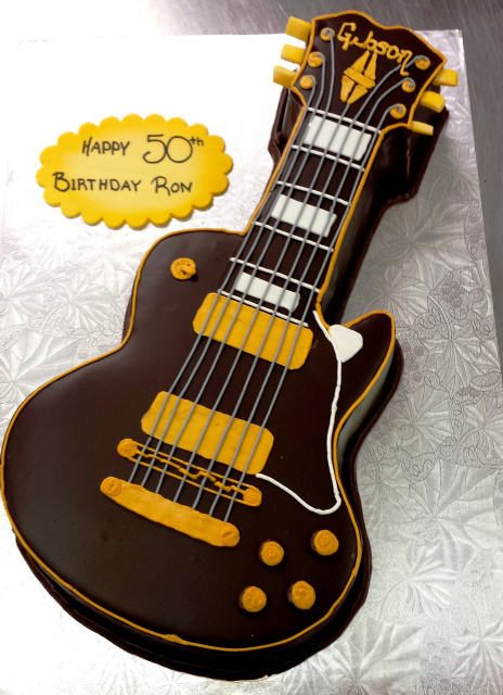 Chocolate Guitar Cake Pan