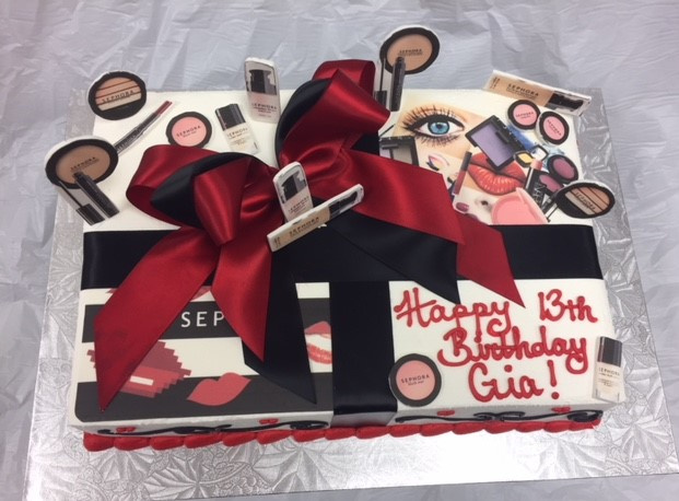 Spa Day Slab Cake