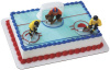 Hockey Players Slab Cake